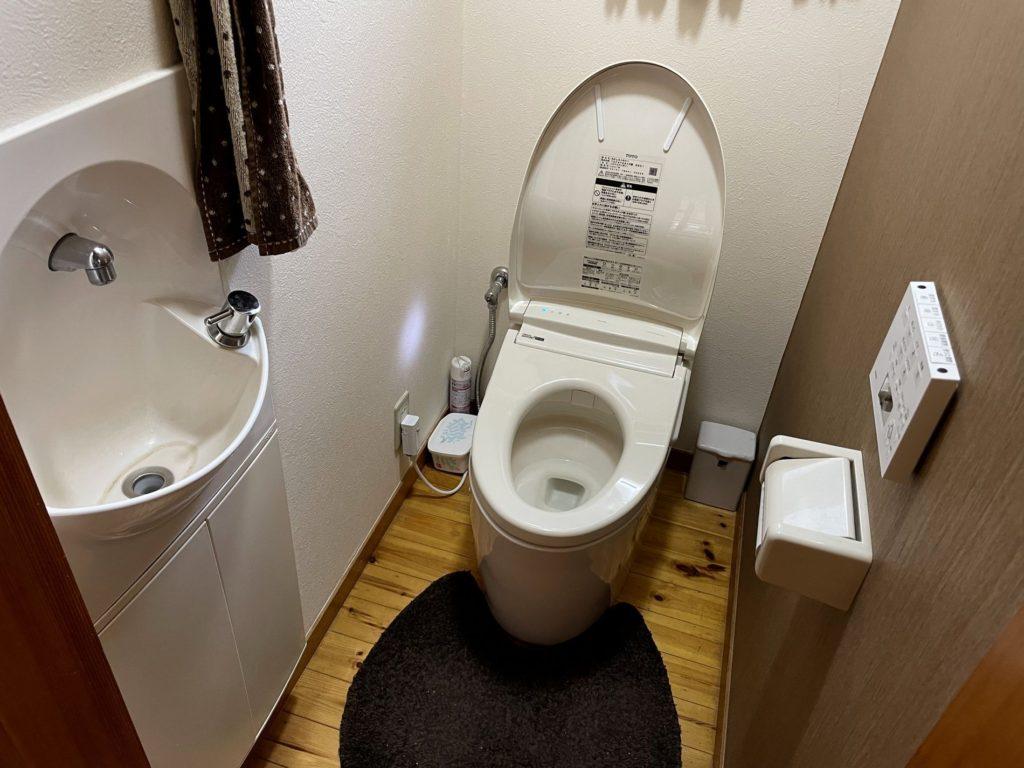 リフォームしたトイレ